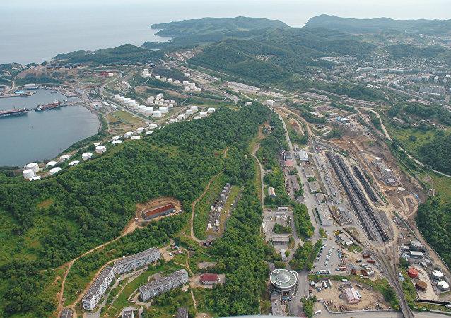 La mayor terminal petrolera de Rosneft en el Lejano Oriente ruso