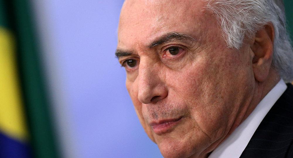 El canciller Faurie viaja a Brasil para reunirse con Temer