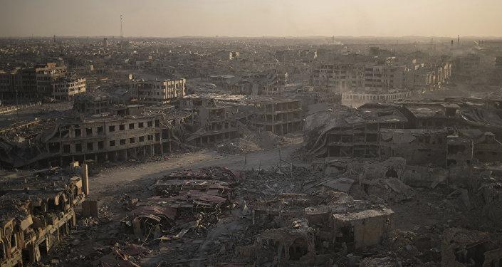 Zona oeste de Mosul, Irak (archivo)