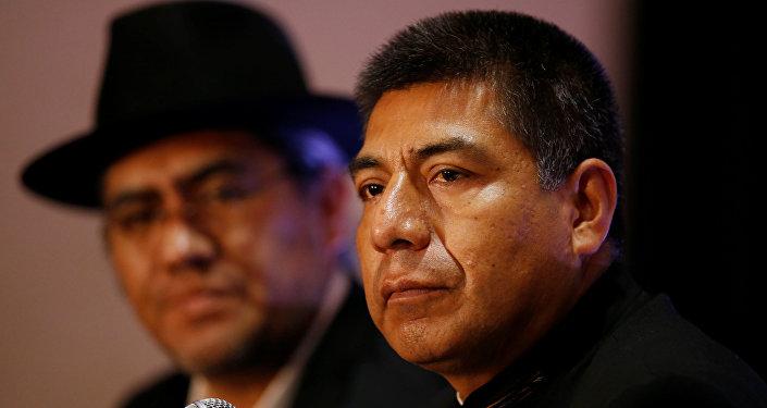 Fernando Huanacuni, canciller boliviano