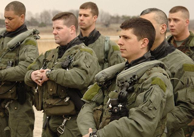 Pilotos militares estadounidenses