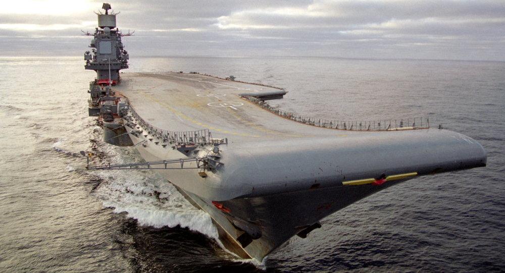 Portaviones ruso Almirante Kuznetsov