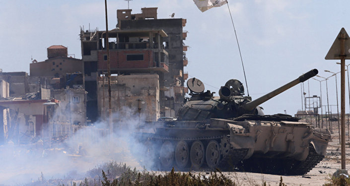 Tanque del Ejército Nacional de Libia
