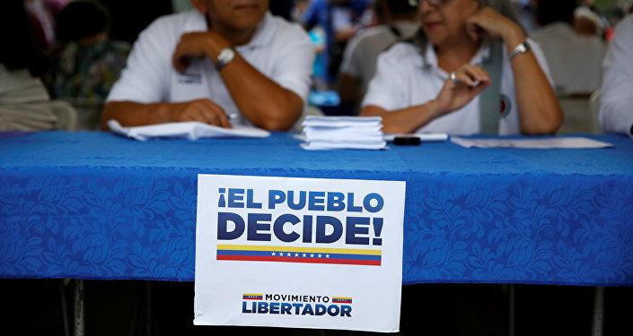 Un plebiscito opositor a la Asamblea Constituyente en Venezuela