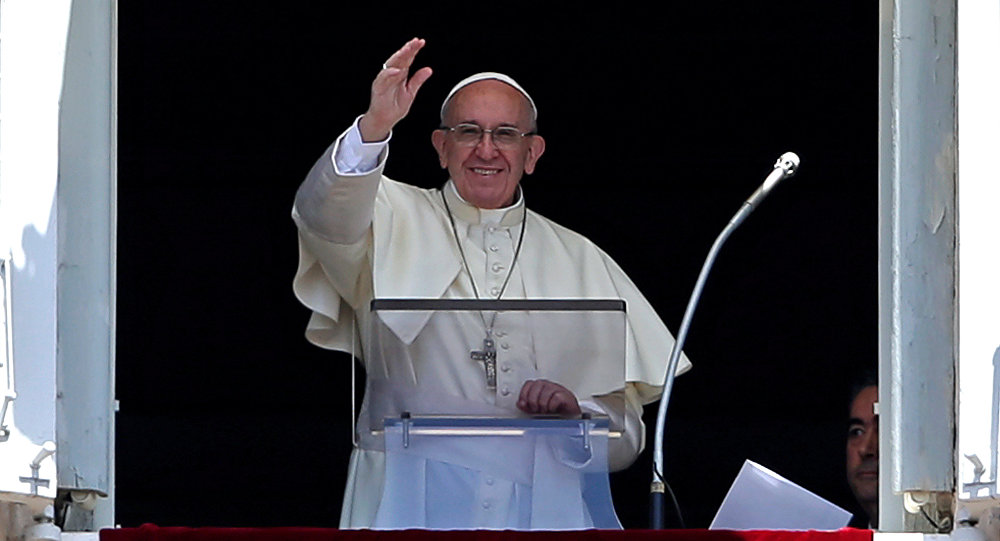 Papa Francisco pide por la paz en Venezuela — VENEZUELA