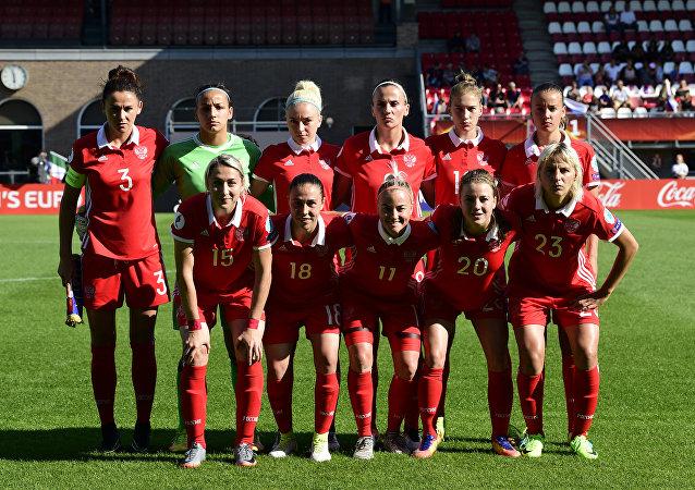 Selección femenina rusa de fútbol