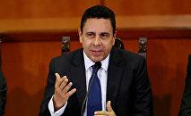 Samuel Moncada, ministro venezolano de Exteriores