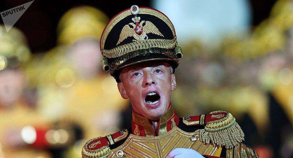 El jefe de la Banda Central del Ministerio de Defensa de Rusia, coronel Serguéi Duriguin
