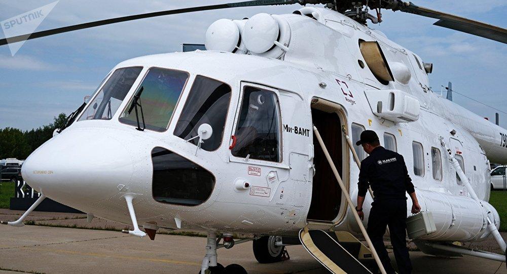 El helicóptero convertible Mi-8AMT