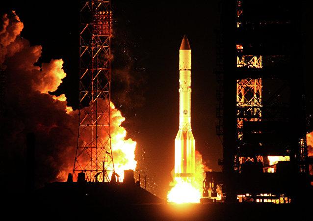 Cohete ruso Proton-M (archivo)