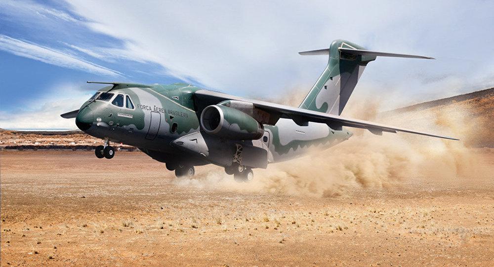 KC-390, avión militar de fabricación brasileña