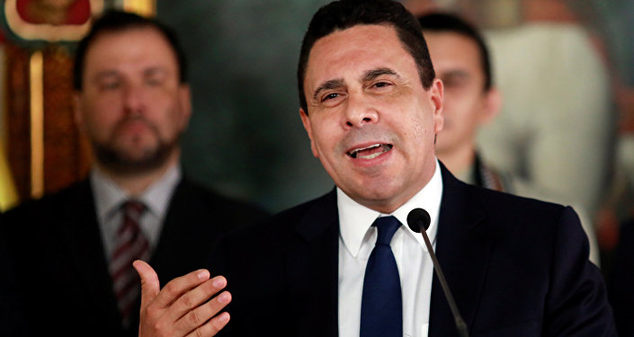 Samuel Moncada, el embajador de Venezuela ante la ONU