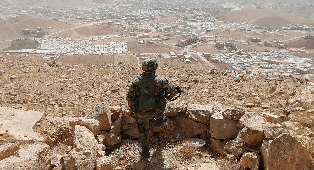 Un soldado en Líbano (archivo)