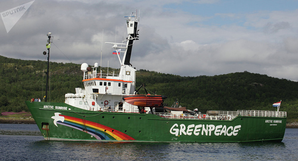 Buque Arctic Sunrise (archivo)