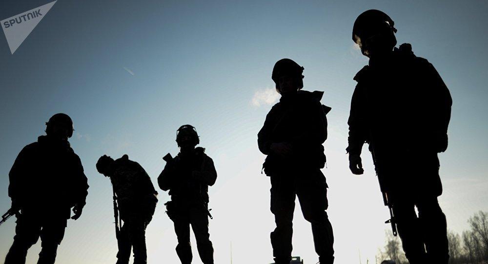 Militares de la Guardia Nacional rusa (archivo)