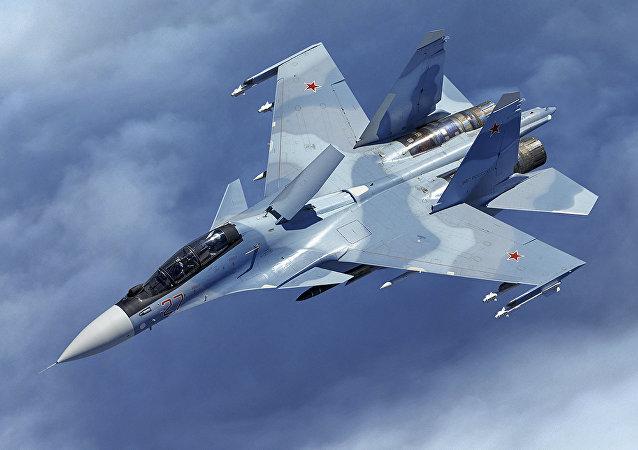 Avión de caza Su-30SM