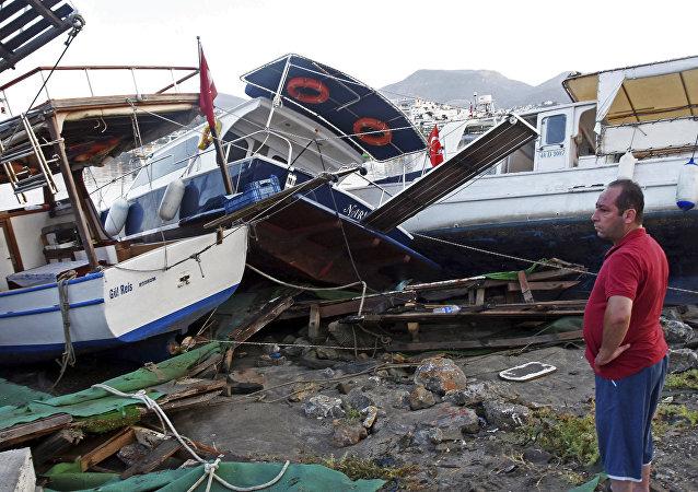 Las consecuencias del terremoto en Turquía