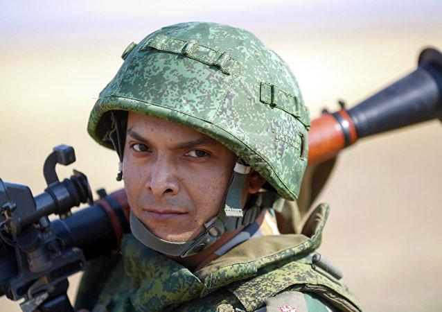 Efectivo del Ejército de Rusia