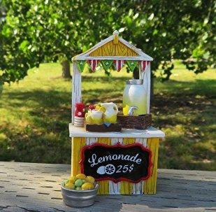 Puesto de limonada (imagen referencial)