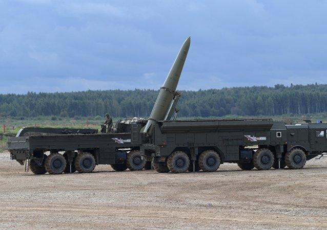 Complejo de misiles Iskander-M