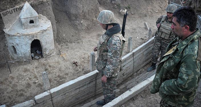Militares de Nagorno Karabaj
