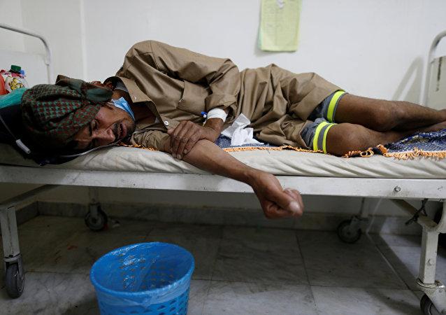 Epidemia de cólera en Yemen