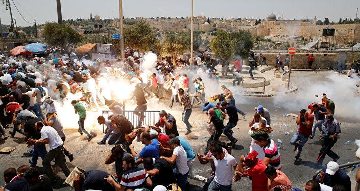 Disturbios en Jerusalén (archivo)