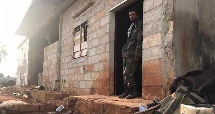 Un soldado sirio (archivo)