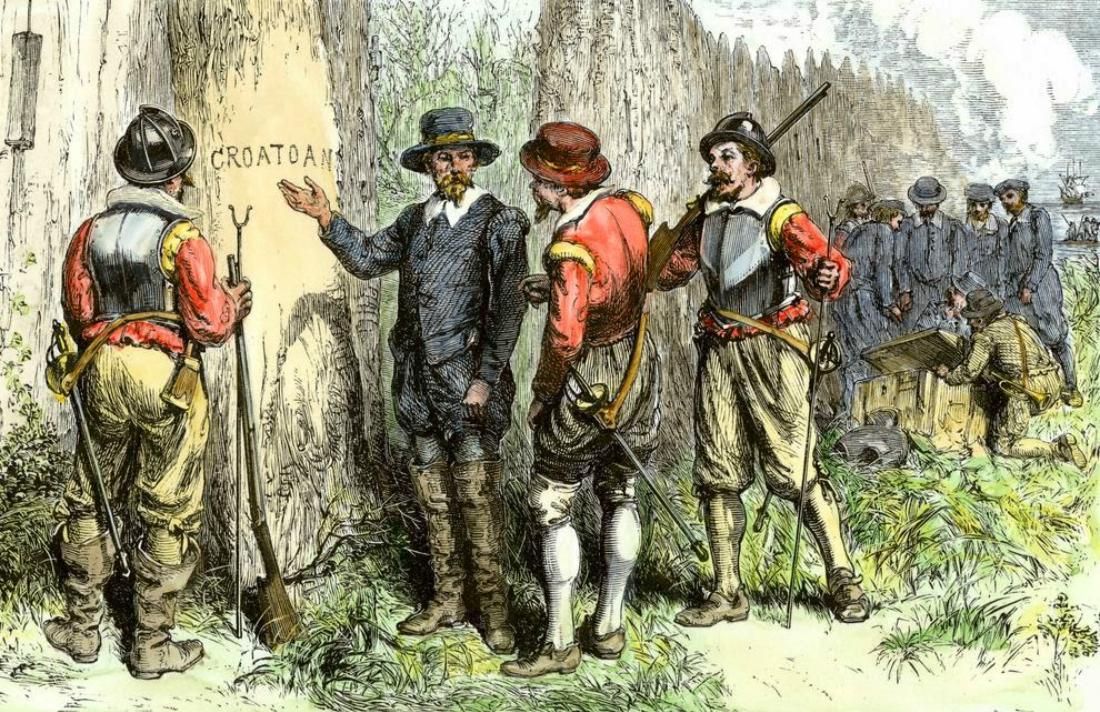 El descubrimiento de la palabra croatoan
