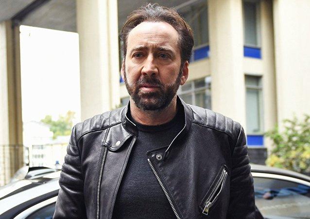 Nicolas Cage, conocido actor estadounidense