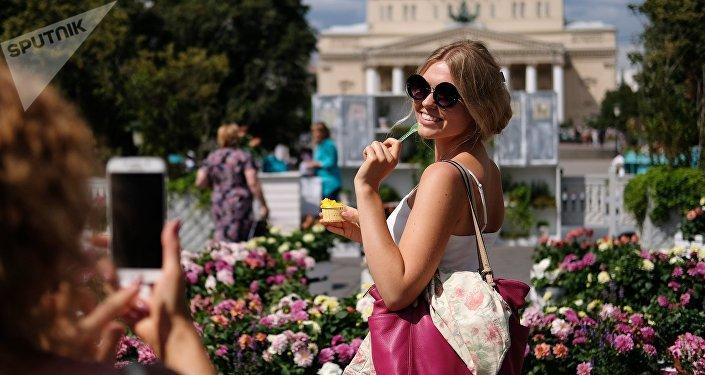 El festival 'Verano de Moscú. Mermelada de flores'