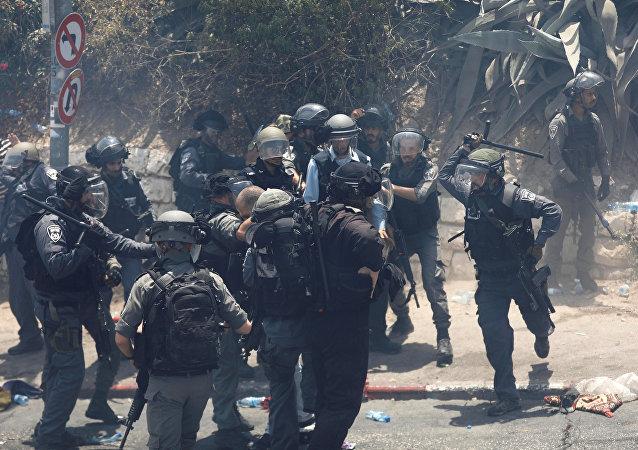 Choques en Jerusalén