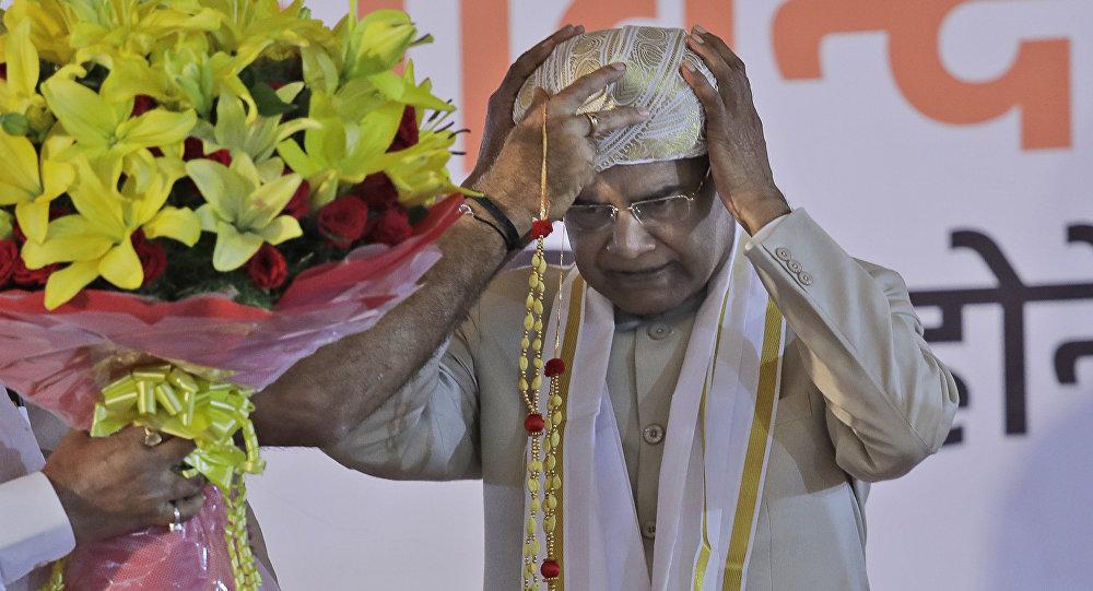 Ram Nath Kovind, presidente de la India