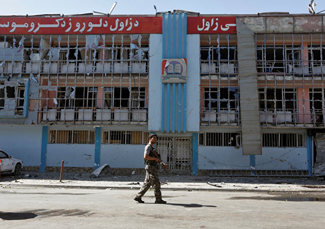 Un militar afgano (archivo)