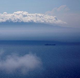 Un buque en el mar de Japón (imagen referencial)