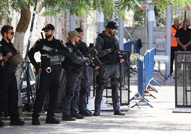 Policía de Israel (archivo)