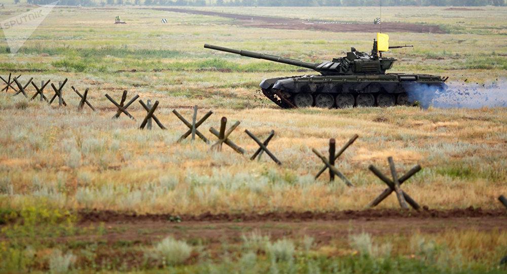Un tanque T-72B3 (archivo)