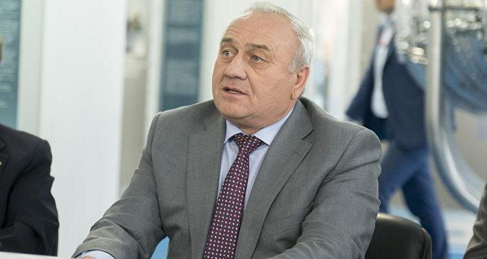 Víctor Poliakov, director gerente de la planta Saturn