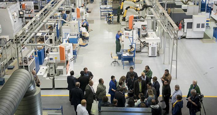 La planta Saturn del conglomerado Rostec