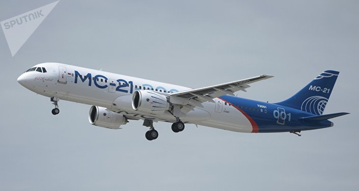 El primer vuelo del nuevo avión ruso MC-21