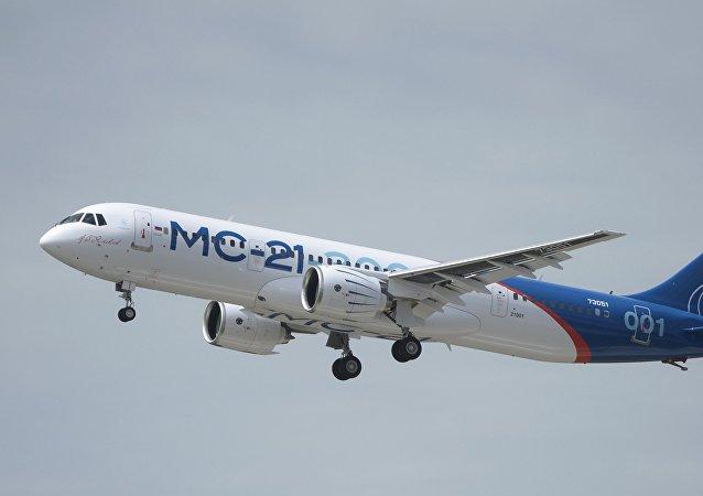 Avión ruso MC-21 (archivo)