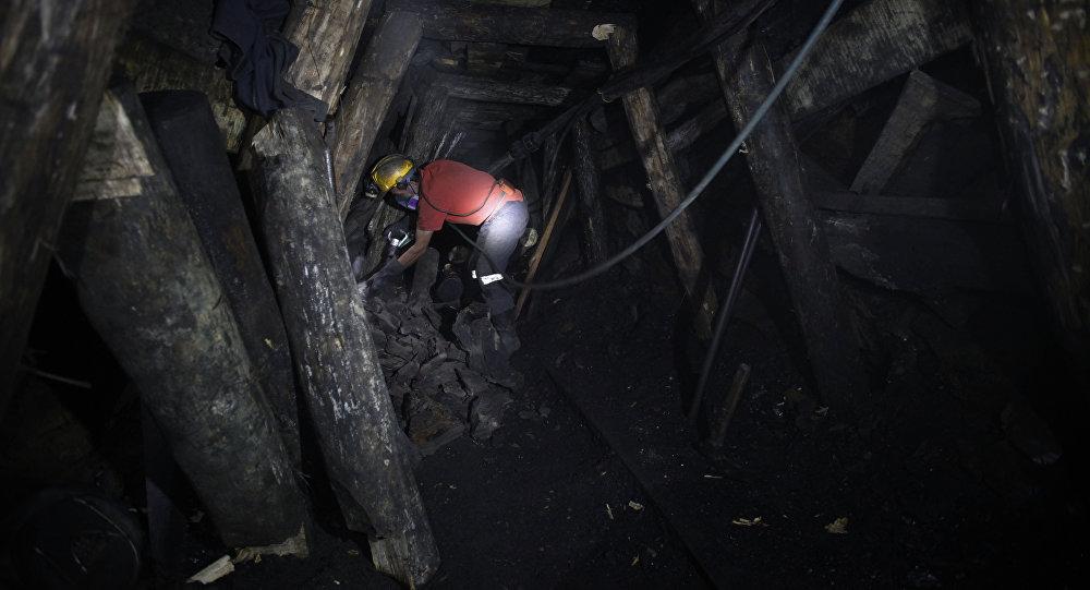Un minero colombiano (archivo)
