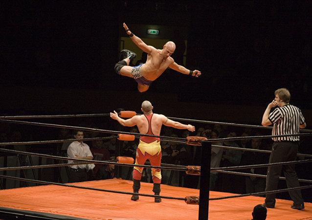 Lucha libre (imagen referencial)