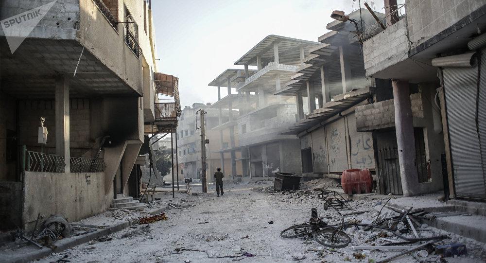 Situación en la ciudad siria de Guta (archivo)