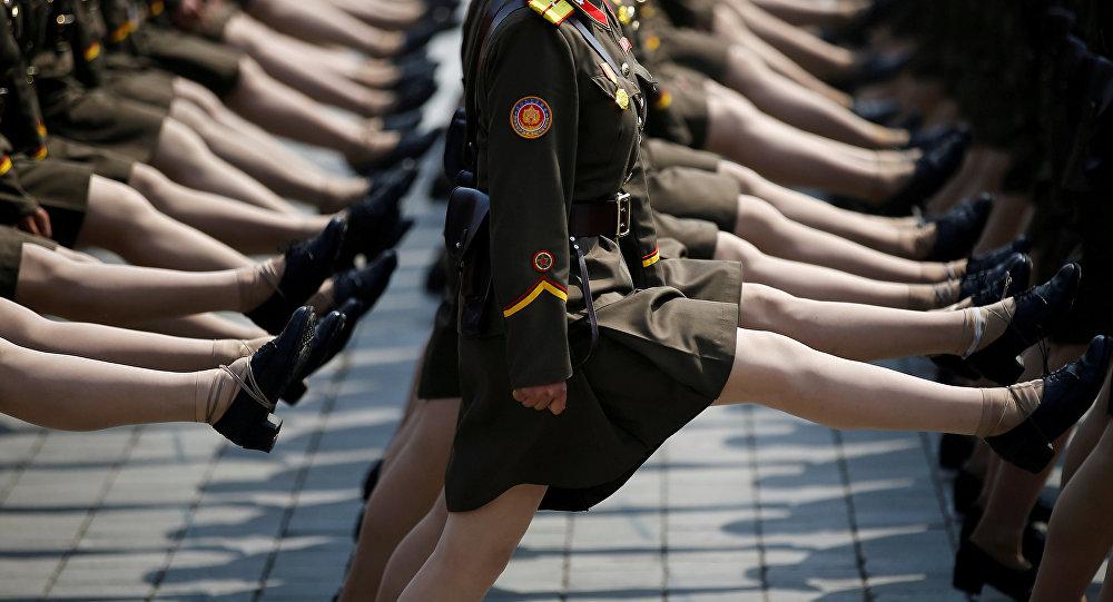 Militares norcoreanos (archivo)