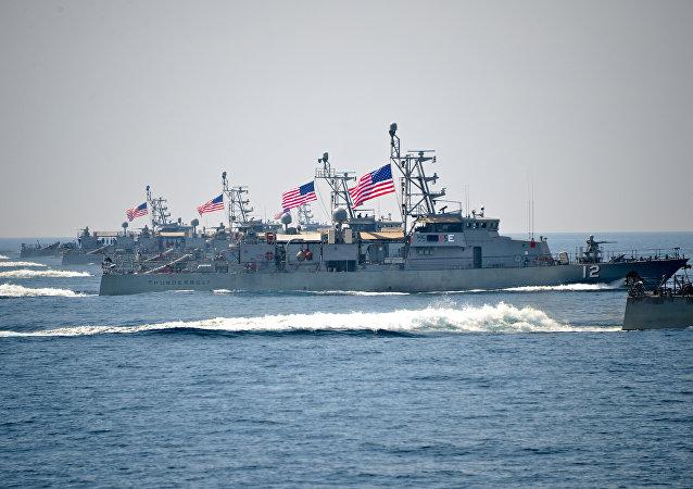 El buque USS Thunderbolt (archivo)el buque USS Thunderbolt (archivo)