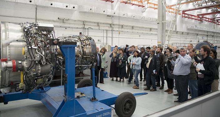 El motor SaM-146 en la planta Saturn