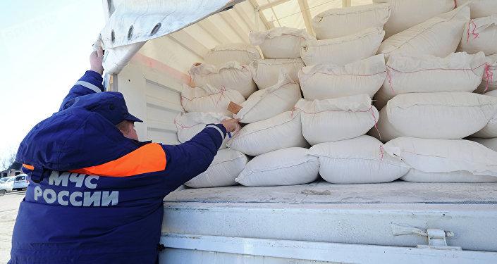 Rusia envía otro convoy con ayuda humanitaria para Donbás