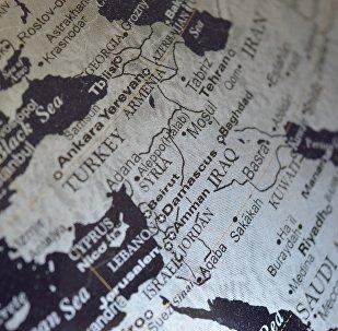 Siria en el mapa