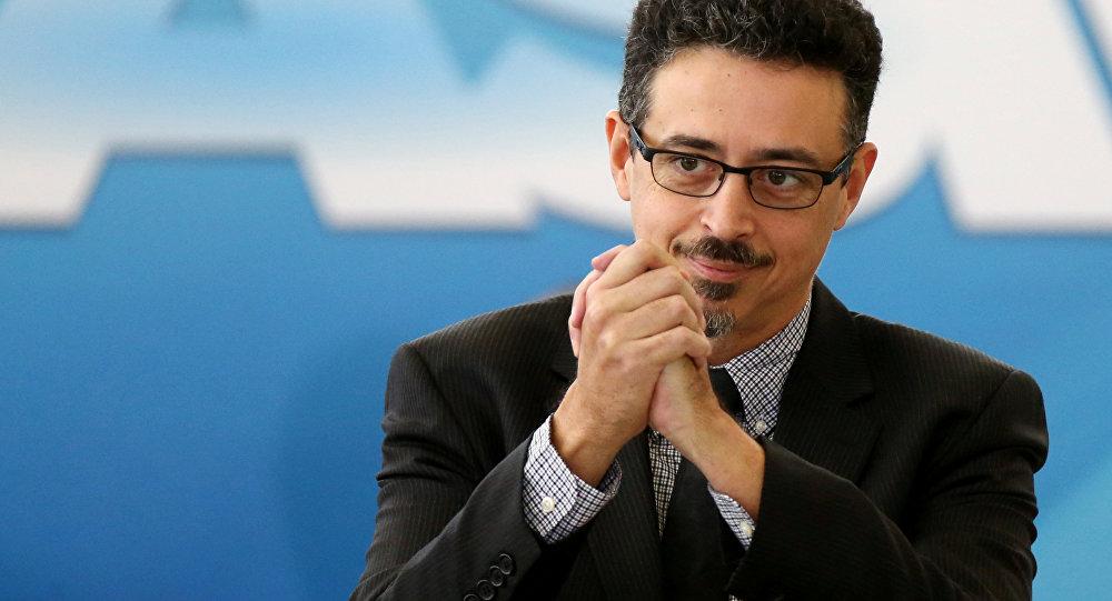 Sérgio Sá Leitao, el ministro de Cultura de Brasil